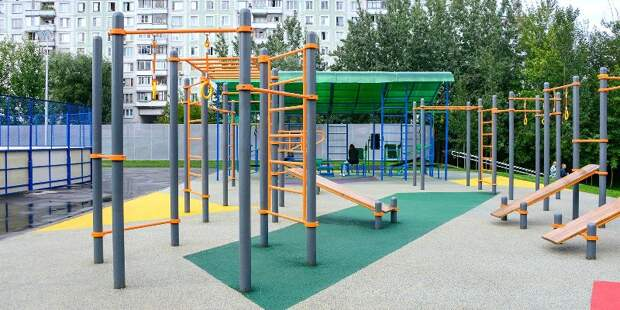Москва создает комфортные условия для занятий уличным спортом