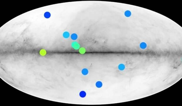 В Млечном Пути нашли признаки существования антизвезд