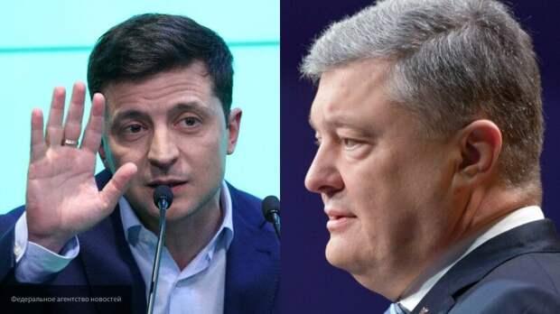 Партия Порошенко считает, что Зеленскому не место в его резиденции