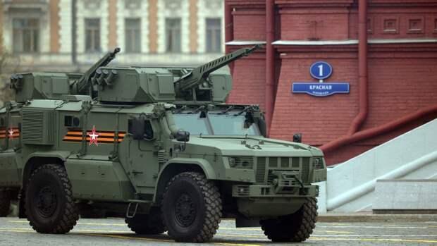 Китайские СМИ составили список самой мощной военной техники на параде Победы в Москве