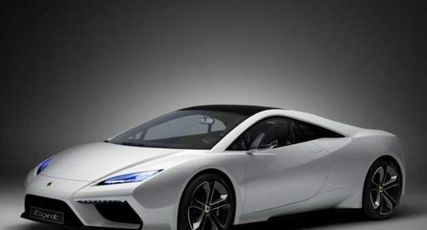Lotus Esprit Concept — современный и достойный суперкар