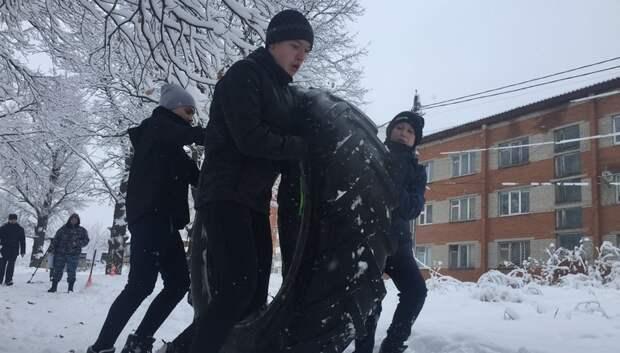 Команда Федюковской школы победила в военно‑спортивной игре среди школьников