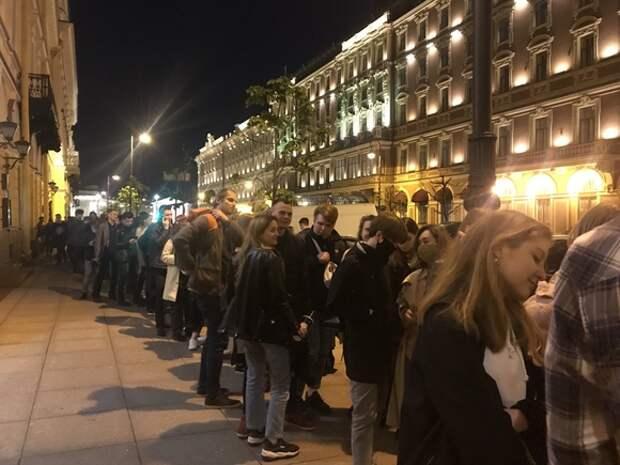 На петербургской «Ночи музеев» побывали больше 20тыс. человек