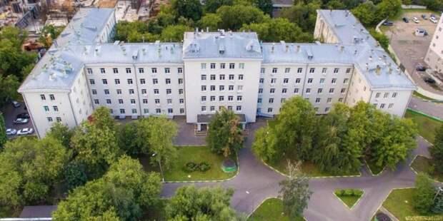 Собянин оценил итоги капремонта Московского городского спинального центра фото: mos.ru