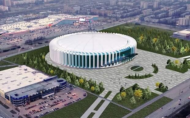 Главгосэкспертиза одобрила проект строительства новой арены СКА