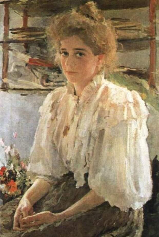 В. Серов. Мария Яковлевна Львова (Симонович), 1895 | Фото: rulex.ru