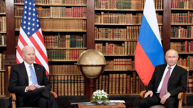 Путин поблагодарил Байдена за инициативу встречи перед началом саммита