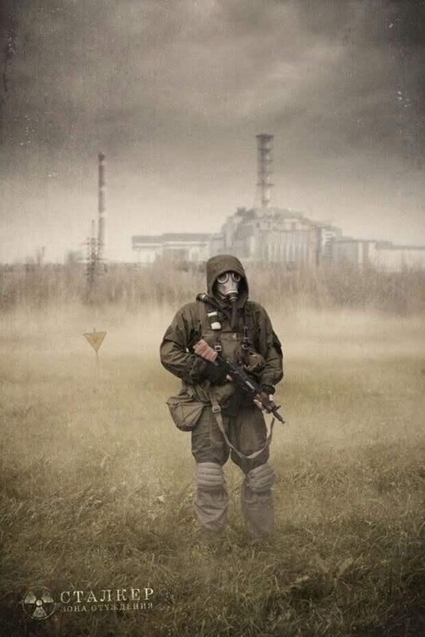 Атмосферные зарисовки, посвященные совместному российско-украинскому проекту S.T.A.L.K.E.R (2006)