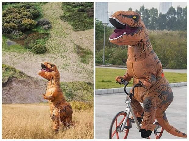 Все мечтают об этом костюме тиранозавра, и вот почему