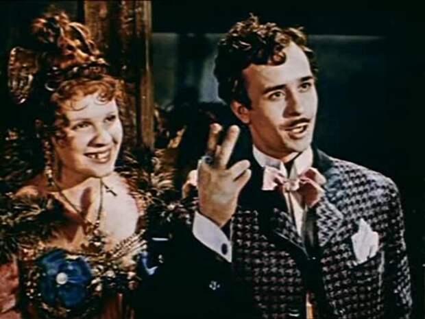 Кадр из фильма *За двумя зайцами*, 1961 | Фото: kino-teatr.ru