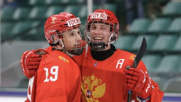 Чибриков сравнялся с Мичковым в гонке бомбардиров ЮЧМ-2021 по хоккею