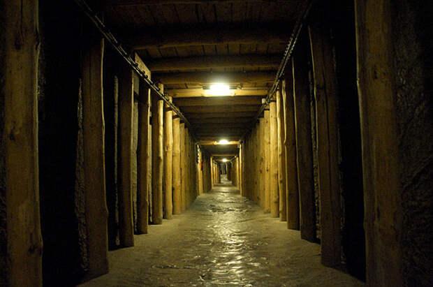 Подземный город из соли