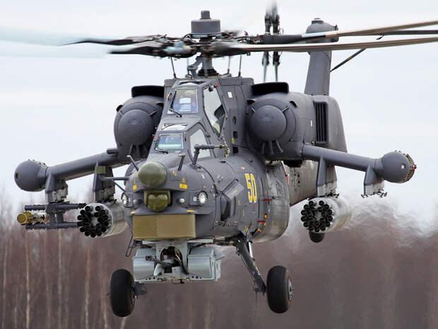 """Вертолет Ми-28НЭ """"Ночной охотник"""" вошел в число символов выставки IDEX-2021 в Абу-Даби"""