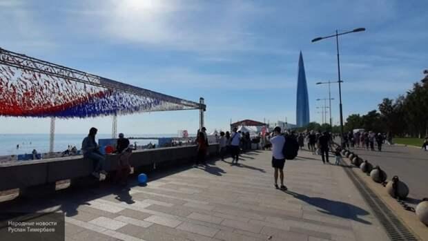 Святой день для страны: как в Петербурге отмечают День России