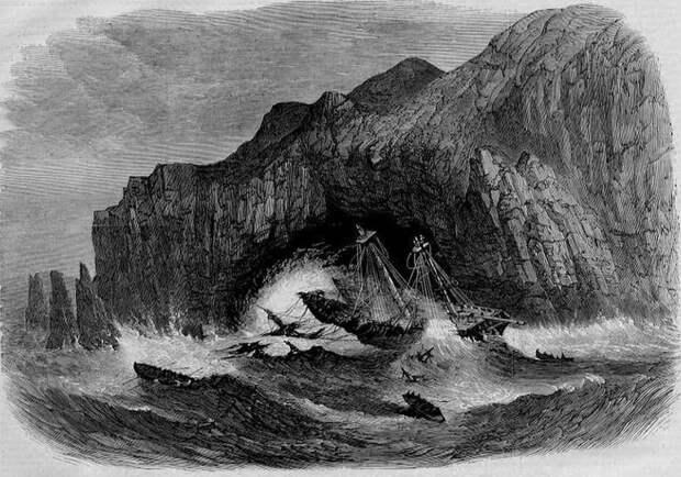 Получив серьезные повреждения, судно спустя несколько часов затонуло