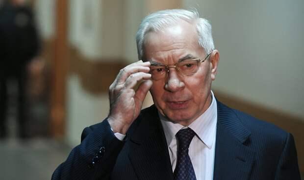 """Азаров: США пытаются сделать Украину """"плацдармом агрессии"""" против России"""