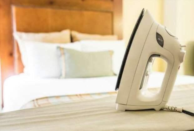 Почему от глажки постельного белья больше вреда, чем пользы