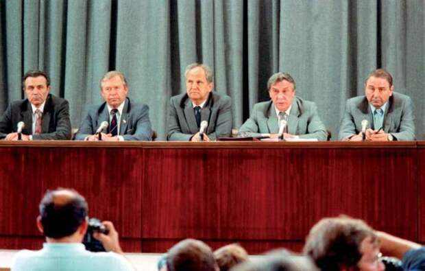 Финальный акт существования Советского Союза