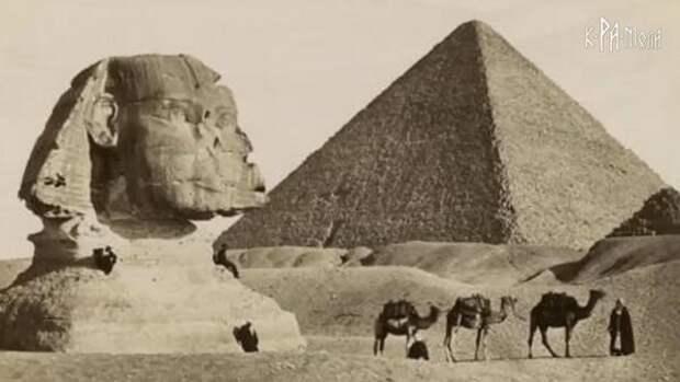 Египет и странная избирательность песка пустынь