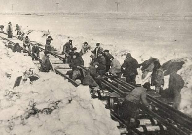 Строительство Волжской рокады: как зеки ГУЛАГа спасли Сталинград