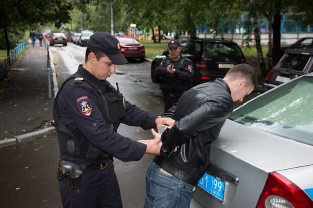 Задержание. Фото: Мос. ру