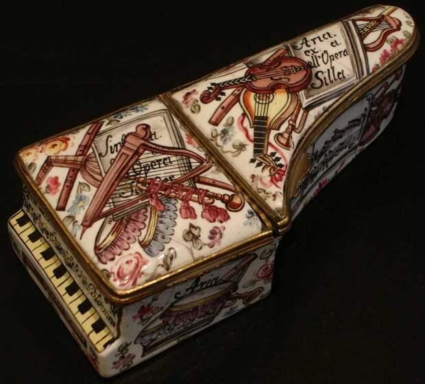 Табакерки - настоящие произведения искусства