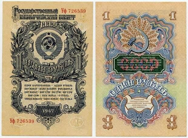 Реформа 1947 года. Сталинский план создания общего «недолларового» рынка
