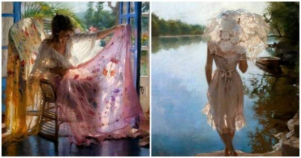 Чувственная живопись испанского художника, который сумел нарисовать свет