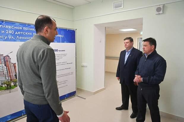 Новую поликлинику откроют в Подольске осенью. Там появится уникальный блок водолечения