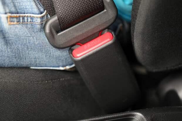пристёгнутый ремень безопасности - залог безопасности