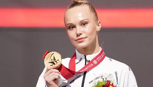Российская гимнастка Ангелина Мельникова стала абсолютной чемпионкой мира в личном многоборье
