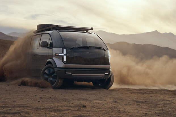 Canoo начала принимать заказы на электрические пикап, фургон и микроавтобус— от $33 тыс