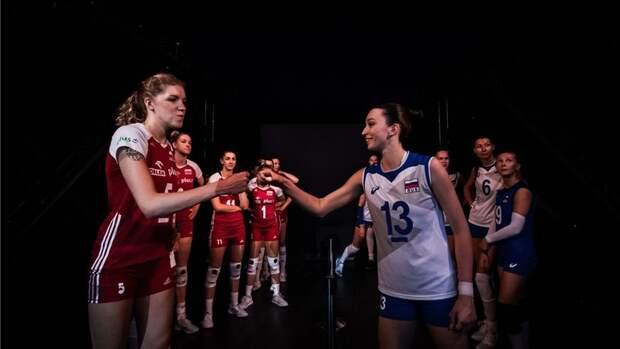 Женская сборная России проиграла Польше натай-брейке взаключительном матче Лиги наций