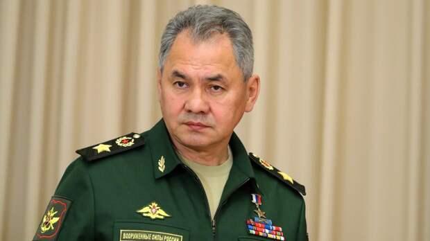 Шойгу провел телефонные переговоры с министром обороны Армении