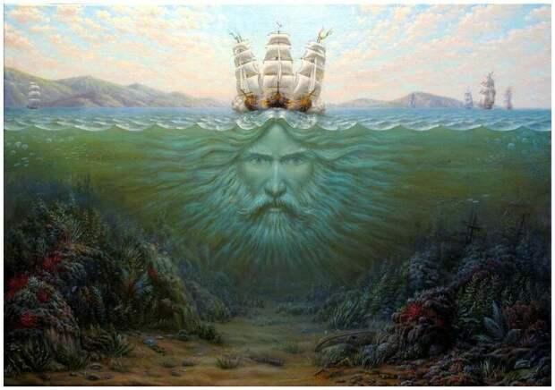 Духи водные