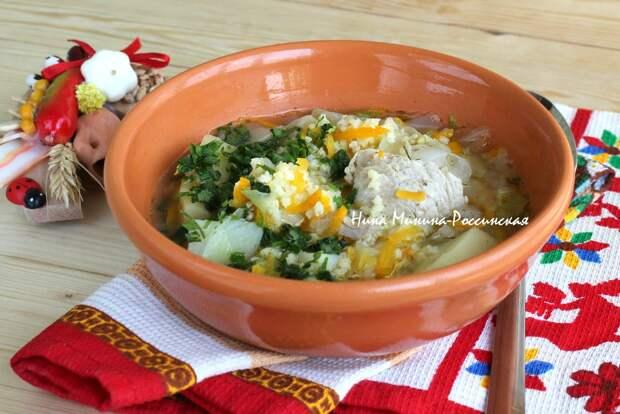 Капустняк со свежей капустой