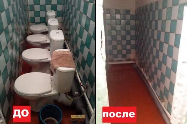 Власти Иркутской области объяснили установленные впритык унитазы в школе