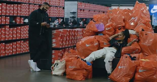 Пользователи назвали новый клип рэпера Дрейка самой дорогой и длинной рекламой Nike