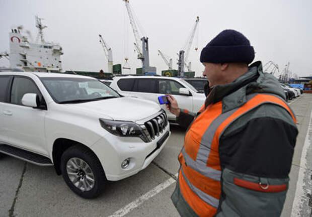 В России вырос импорт легковых автомобилей