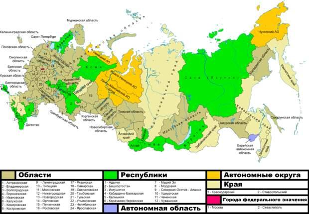 «Неправильные» регионы России, эстонские крысы и немецкие пенсионеры в Болгарии