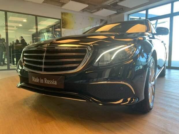 Mercedes-Benz E-Klasse – первый автомобиль марки, собранный на заводе «Московия»