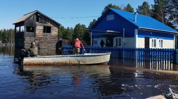 Сильный паводок стал причиной ввода режима ЧС в Ермаковском районе Красноярского края