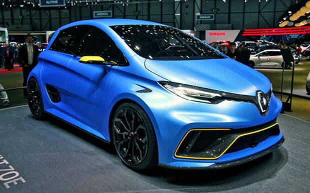 Зверо-Зоя: Renault превратила электрический хэтчбек в гоночного монстра