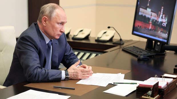 Путин назвал односторонние санкции недопустимыми