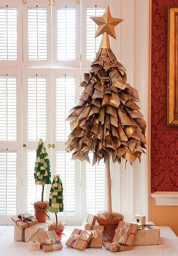 Крутой пример оформления ели и создания новогоднего настроения.