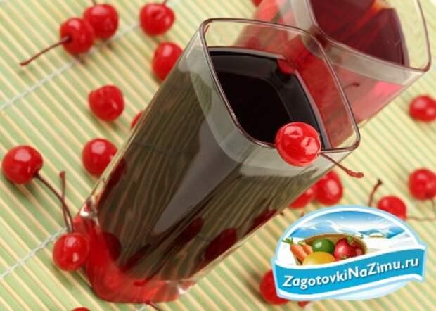 Компот из вишни рецепт приготовления