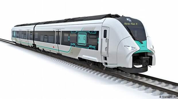 Водородный поезд Siemens Mireo Plus H