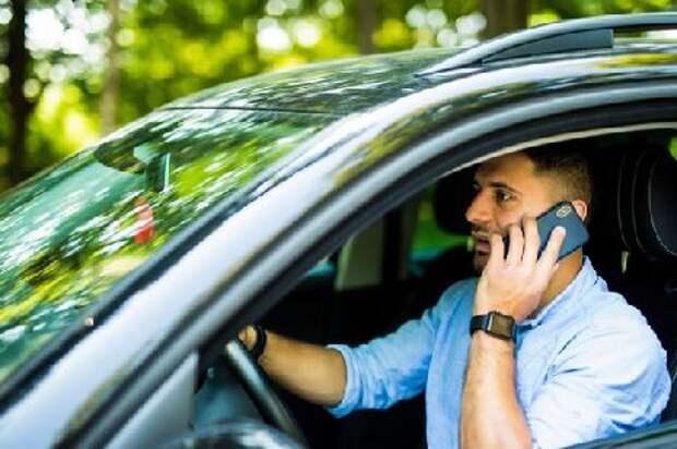 ГИБДД будет визуально фиксировать разговоры водителей по телефону