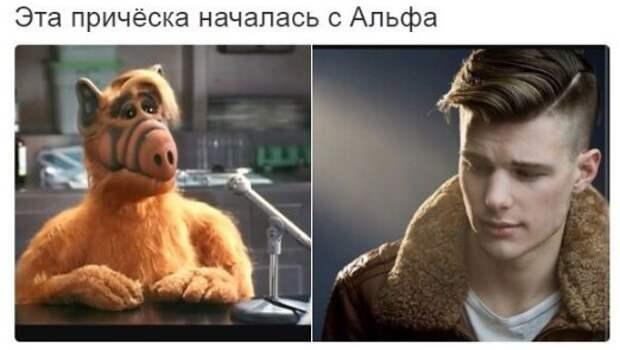 "Стрижка ""под Альфа"""