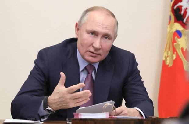 Владимир Путин рассказал о национализации некоторых российских предприятий